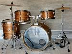 Slingerland Zebra Wood Drum Kit